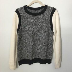 Tibi wool black and white sweater